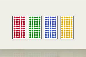 Color Dots by HWANG Gyutae contemporary artwork
