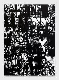OK DADA OK BLACK DADA OK (DA DA) by Adam Pendleton contemporary artwork painting