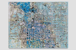 Next, Storm the castle by Mark Bradford contemporary artwork mixed media