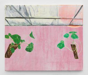 2059 (garden) by Dexter Dalwood contemporary artwork