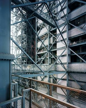 Vehicle Assembly Building, Kennedy Space Center, Cape Canaveral 2008 by Thomas Struth contemporary artwork