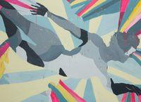 Sun/Apollo: True Light 2020 by Chati Coronel contemporary artwork painting