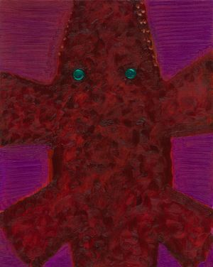 Crocovelus Niloticus by Sofia Mitsola contemporary artwork painting