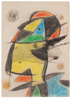 Personage by Joan Miró contemporary artwork