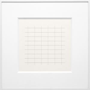 On a Clear Day #24 by Agnes Martin contemporary artwork