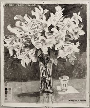 Yes I Know the New Poem by William Kentridge contemporary artwork