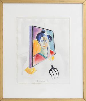 Triptychos Post Historicus by Braco Dimitrijević contemporary artwork