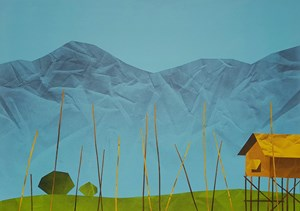 Inle Lake No. 3 by Min Zaw contemporary artwork