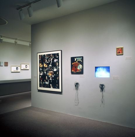Exhibition view: Group Exhibition,Collaborations with Parkett: 1984 to Now, The Museum of Modern Art (5 April–5 June 2001). Courtesy Parkett.