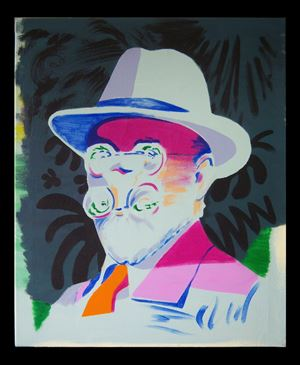 Matisse by Darren Coffield contemporary artwork