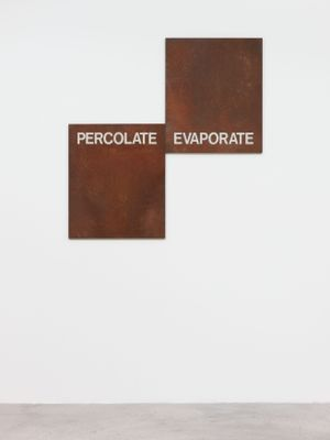 Percolate/Evaporate by Gregory Mahoney contemporary artwork