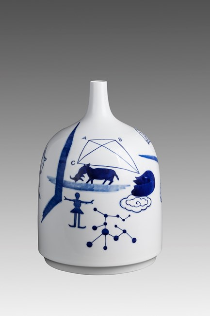 Blue Like Sky 3 by Guan Wei contemporary artwork