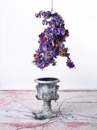 dragon Blue by Lita Cabellut contemporary artwork sculpture