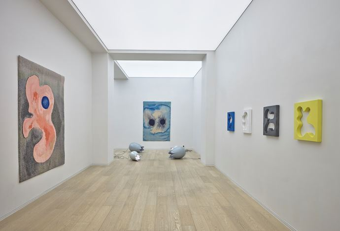 Exhibition view: Mai-Thu Perret, News from Nowhere, Simon Lee Gallery, Hong Kong (10 January–28 March 2020).Courtesy Simon Lee Gallery. Photo: Kitmin Lee.