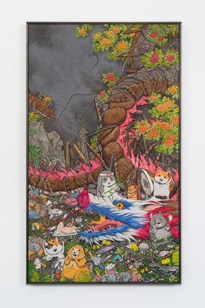 One shot, Two kills by Hun Kyu Kim contemporary artwork