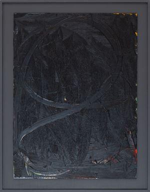 Slate Black by Jake Walker contemporary artwork