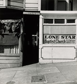 Lone Star Baptist Church, San Francisco by Irving Penn contemporary artwork