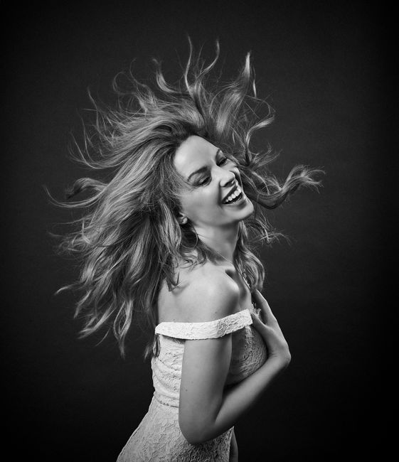 Kylie Minogue Diamond Dust by Andy Gotts contemporary artwork