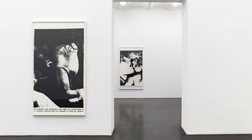 Contemporary art exhibition, Lutz Bacher, Sex with Strangers, 1986 at Galerie Buchholz, Cologne