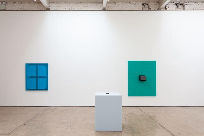Exhibition view:Adam McEwen, Meddle, The Modern Institute, Aird's Lane, Glasgow (28 September–2 November 2019). Courtesy The Artist and The Modern Institute/Toby Webster Ltd., Glasgow. Photo: Patrick Jameson.