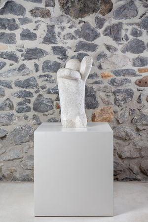 Yacente (Recumbent) by Eduardo Chillida contemporary artwork