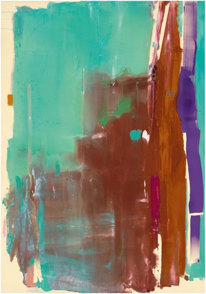 Jupiter by Helen Frankenthaler contemporary artwork