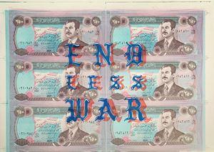 END-LESS-WAR by Taravat Talepasand contemporary artwork