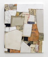 Keith Lumber by Sally Ross contemporary artwork mixed media