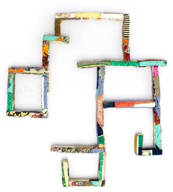 Appliqued Foundation by Hema Shironi contemporary artwork
