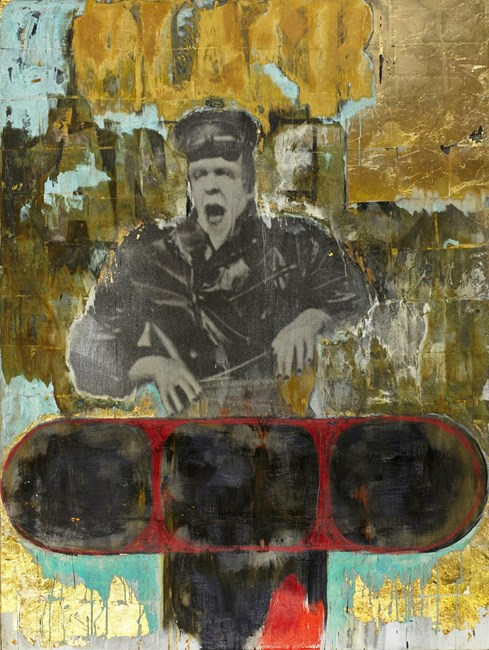 Who is this who darkens counsel? by Pete Wheeler contemporary artwork