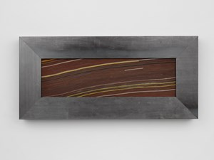 Strata Poem in Red by Theaster Gates contemporary artwork