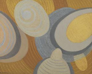 Valse des rythmes by Berthe Dubail contemporary artwork