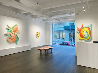 Exhibition view:Leah Guadagnoli, Love Lies Bleeding, Hollis Taggart, New York (14 October–13 November 2021).Courtesy Hollis Taggart.