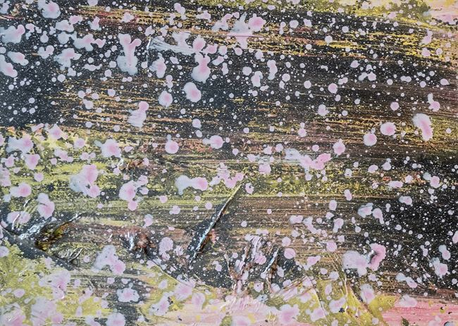 Mimosen by Adrian Schiess contemporary artwork