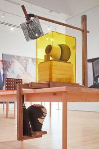 LB by Dave McKenzie contemporary artwork sculpture, mixed media