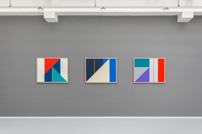 Exhibition view: Léon Wuidar, INVENTAIRE, rodolphe janssen, Brussels(7 September–20 October 2018).Courtesy rodolphe janssen.