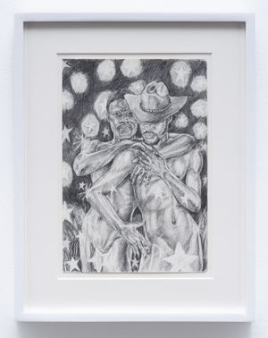 In the Heat of the Night by Anthony Peyton Young contemporary artwork works on paper, drawing