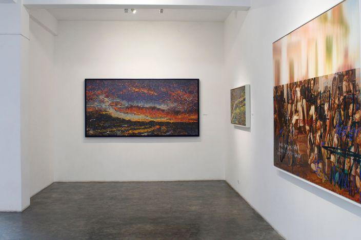 Exhibition view: TWENTYFIVE, Gajah Gallery, Yogyakarta (7 August–7 September 2021). Courtesy Gajah Gallery.