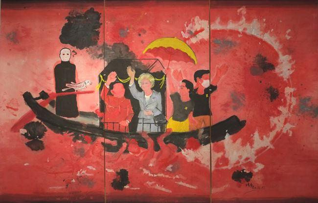 Post 97 Destiny Boat by Wong Shun Kit contemporary artwork