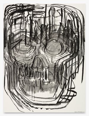 Soma Care Painting I by Thomas Houseago contemporary artwork works on paper, drawing