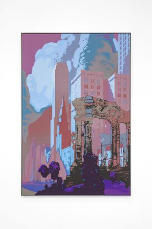 Unreal City by Alex Dordoy contemporary artwork