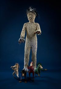 The Horseman by Linde Ivimey contemporary artwork sculpture