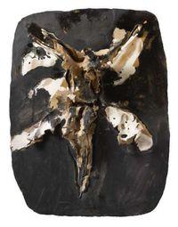 Crucifixion by Lucio Fontana contemporary artwork sculpture