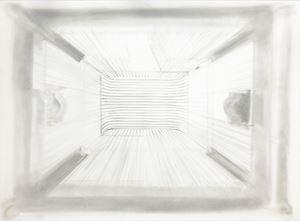 Birdcage Shadow by Patricia Jordan contemporary artwork