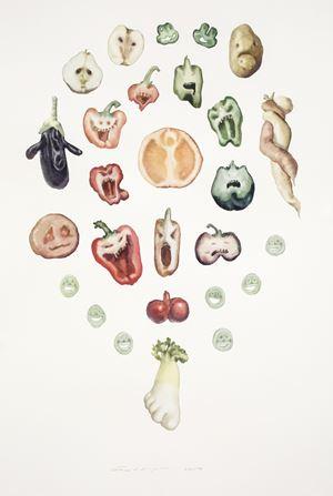Pareidolia by Guo Hongwei contemporary artwork