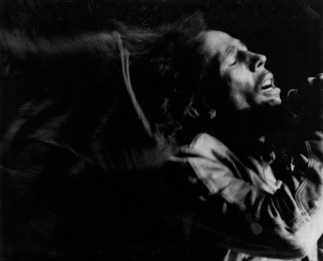 Bob Marley, Final Performance, Madison Square Garden, New York by Chester Higgins contemporary artwork