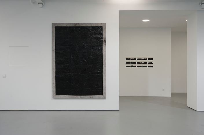 Exhibition view: Joël Andrianomearisoa, Tomorrow, tomorrow. Those are words. You love flowers. How about tomorrow?Sabrina Amrani Gallery, Madrid (13 April–27 July 2019). Courtesy Sabrina Amrani Gallery.