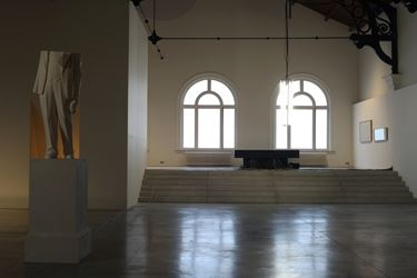 Exhibition view: Martine Feipel & Jean Bechameil, Automatic Revolution, La Patinoire Royale – galerie Valérie Bach (11 January—28 March 2019). CourtesyLa Patinoire Royale – galerie Valérie Bach.