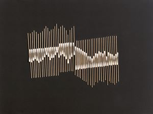 To Touch the Heartstrings- Stick Series by Chu Weibor contemporary artwork