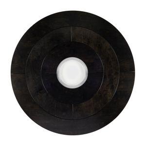 """Black 60"""" Disc by Sam Gilliam contemporary artwork"""